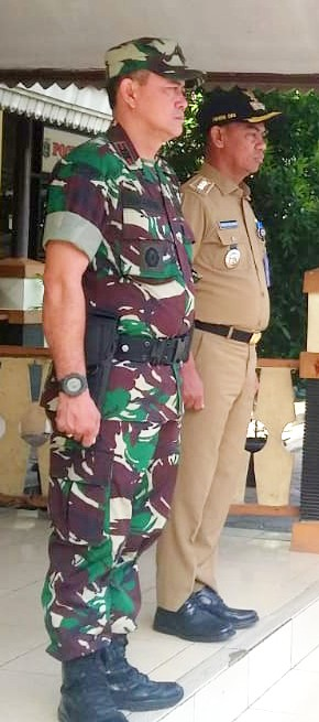Wakili Danramil 03/GP, Babinsa Hadiri Pembukaan FORST Tingkat Kecamatan Palmerah