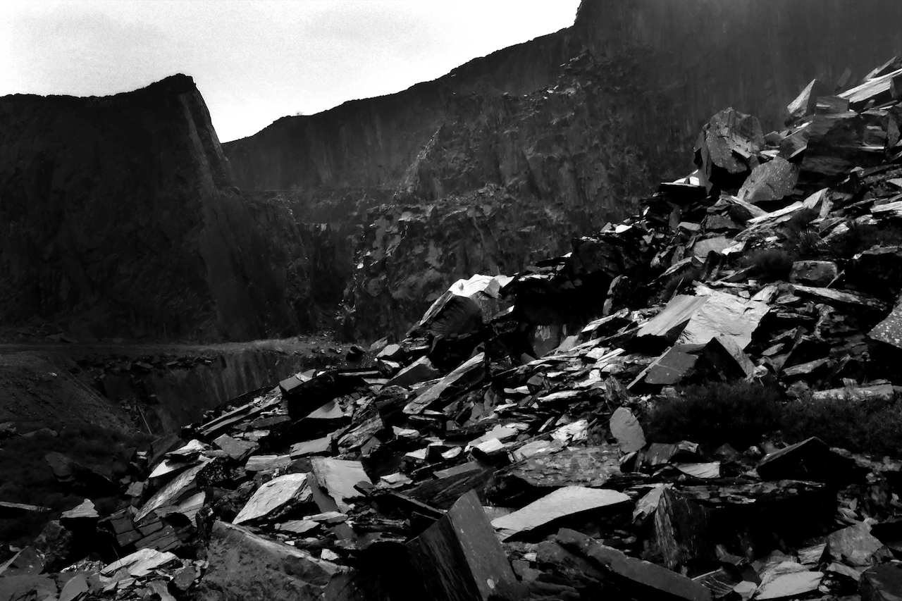 Dinorwig Slate Quarry 02, Wales, UK