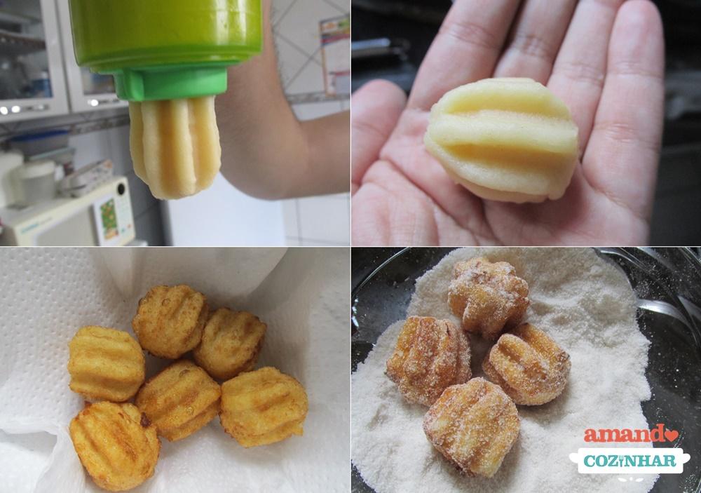 Mini Churros Com Doce De Leite Amando Cozinhar Receitas Fáceis E