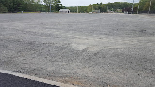 the field is empty on Beaver St, the materials are not yet  delivered and ready for installation as of Tuesday evening