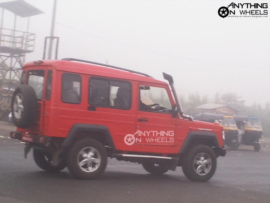 Anything On Wheels Force Trax Gurkha To Make A Comeback