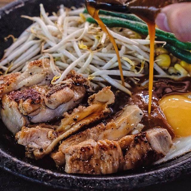 Chicken Teriyaki Pepper Rice