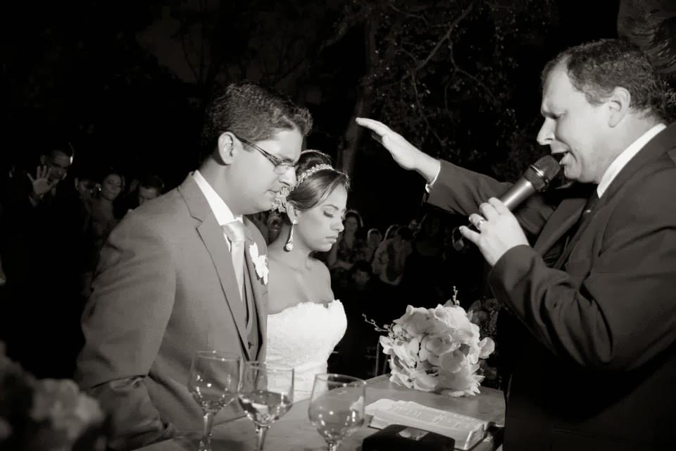 cerimônia - altar - noivos - benção