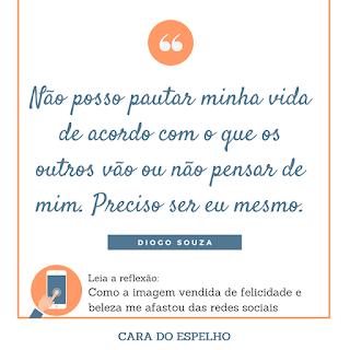 reflexao, redes sociais, cara do espelho, frases, quotes