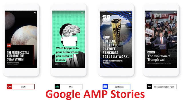 Google lance le format AMP Stories visuelles