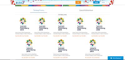 Cara Membeli Tiket Asian Games 2018