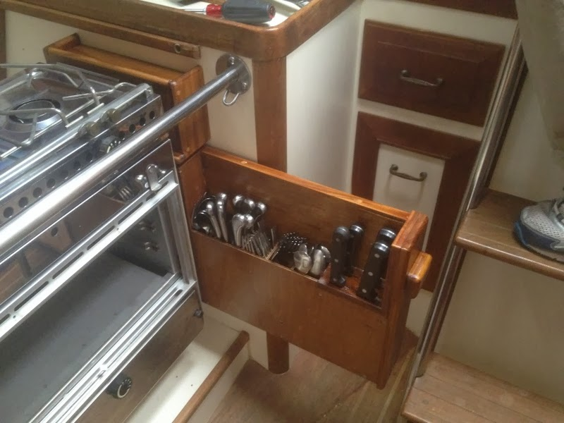Small Boat Projects Making Life Aboard Easier New Stove