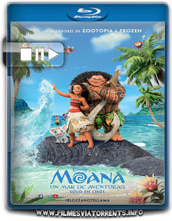 Moana: Um Mar de Aventuras Torrent – BluRay Rip 720p e 1080p Dual Áudio