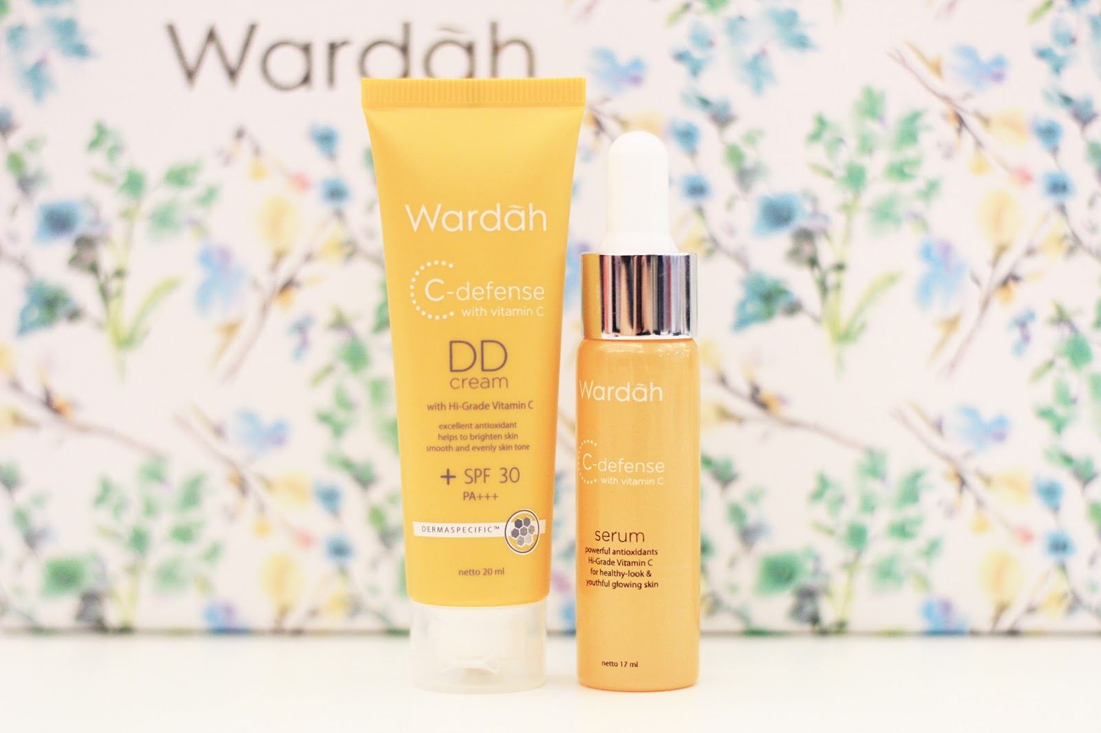 Review Wardah Hampers Unboxing Youniverse Asian Brave Look Big C Defence Serum Defense And Dd Cream