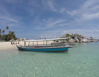 Boat Tradisional Belitung