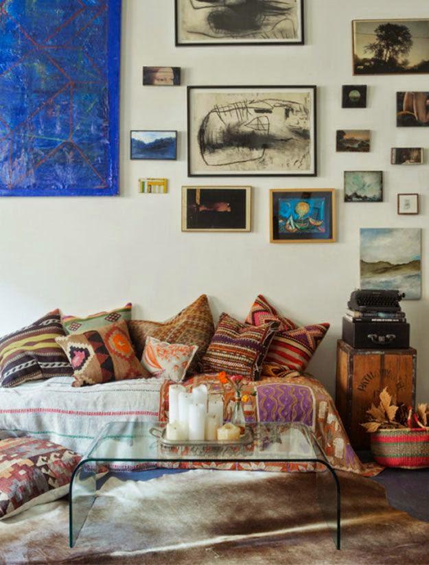 Eclectic Sitting Rooms... - interior design