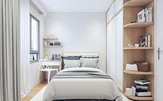 Thiết kế căn hộ 68m2 hiện đại được ưa chuộng nhất năm 2018 - H6