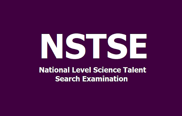 NSTSE National Level Science Talent Search Examination 2020
