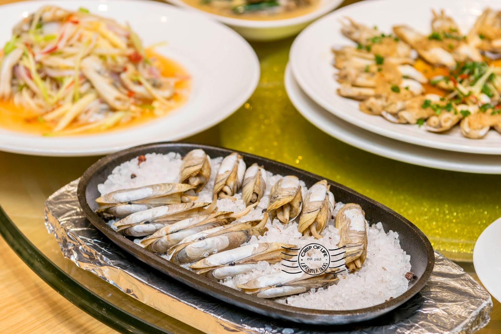 Taste the DOUTOU Clams (哆头蛏) Exclusively Available at Putien Malaysia Only