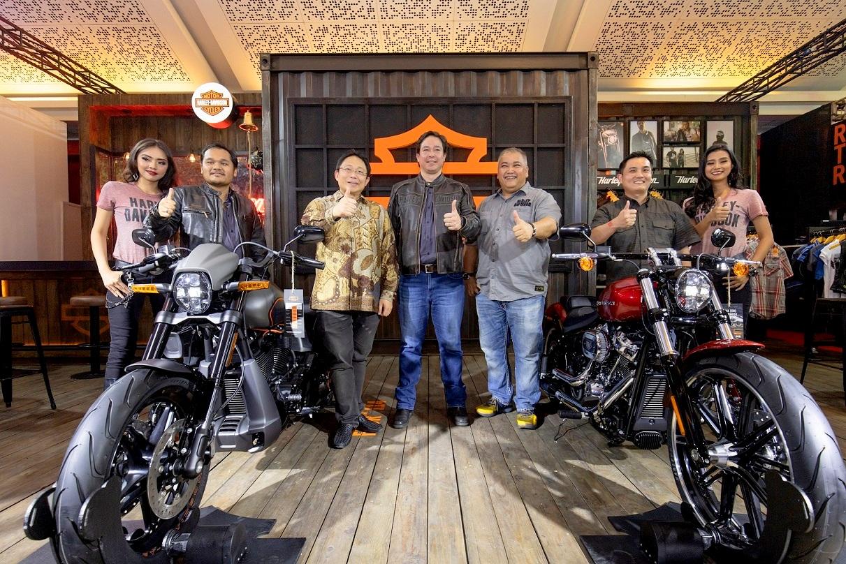 IIMS 2019 : Harley Davidson resmi merilis Cruiser FXDR 114 dan Iron 1200