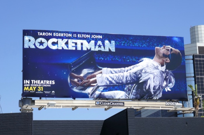Rocketman film billboard