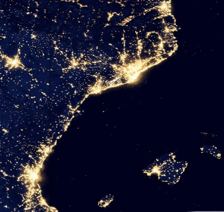 La Natura A La Baixa Tordera Contaminaci Lumnica Light