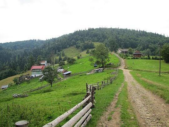 Przełęcz Przysłop.
