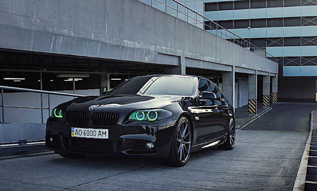 BMW 5 Series M-Sport With Vossen Wheels