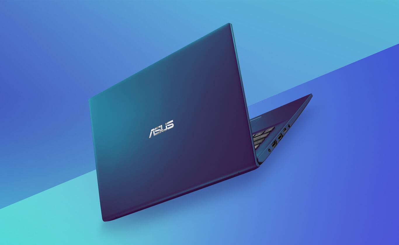Asus VivoBook Ultra A412DA Peacock Blue Color