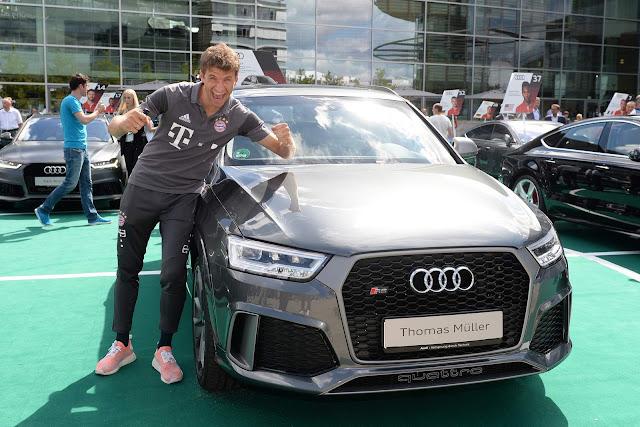 Thomas Muller - Audi RSQ3