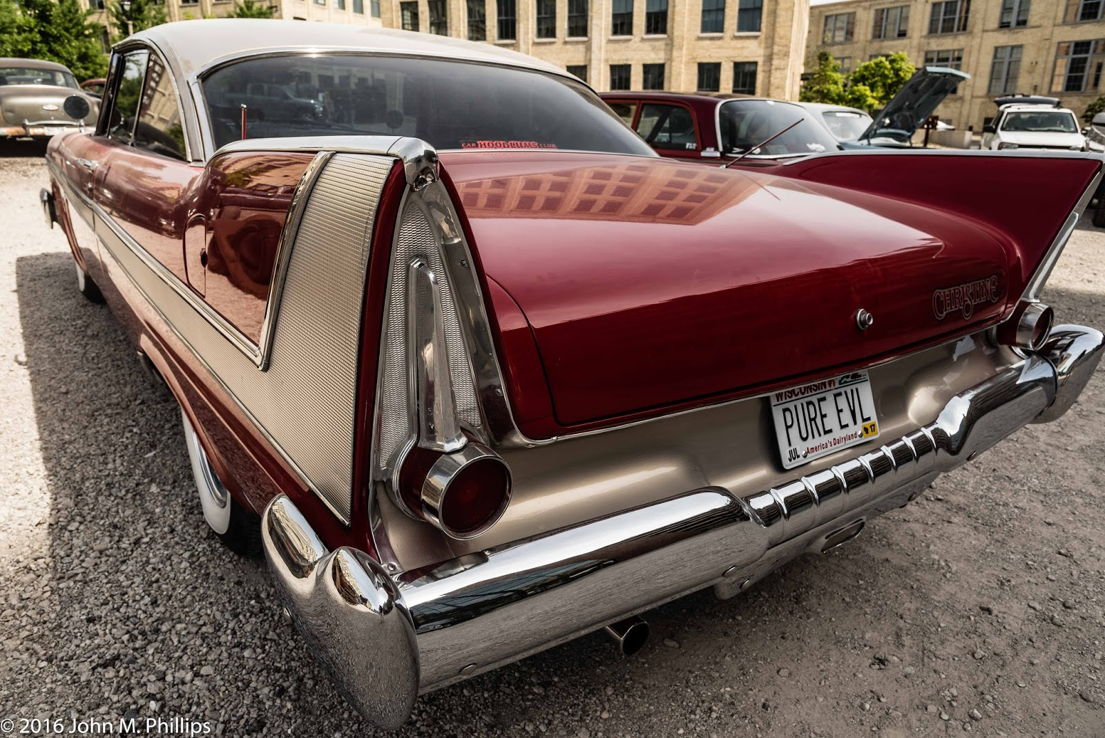 Skeptic Photo Serendipitous Classic Car Rally 1950s Chrysler Cars The Distinctive Features Of This As With All Corporation Late Were Iconic Fins So Here My Goal Was To Emphasize