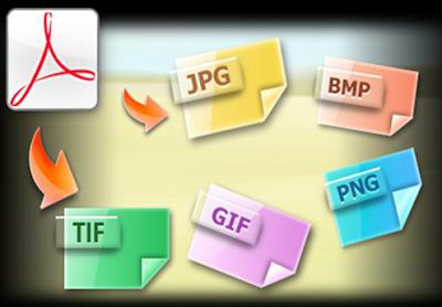 شرح تحويل ملفات PDF الى الصورة و بجميع الامتدادات
