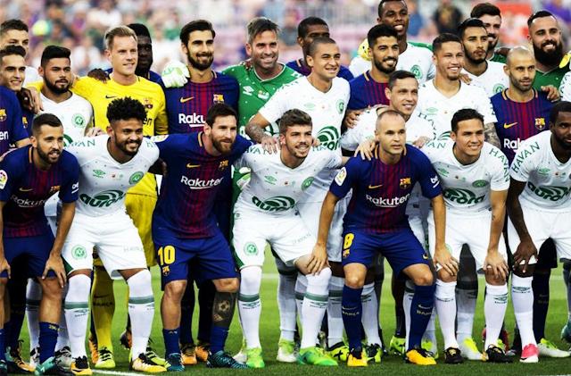 Barcelona ganó 5-0 al Chapecoense