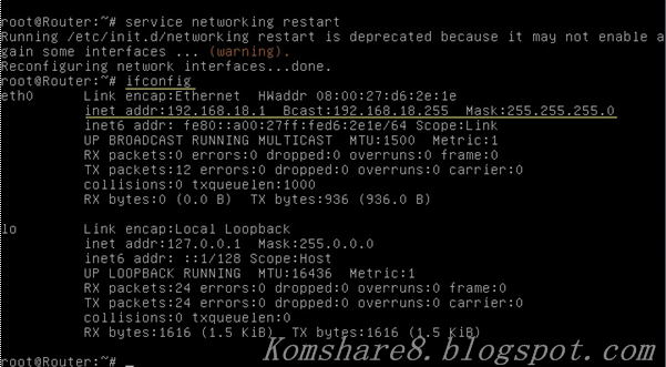 Cara Konfigurasi IP Address Pada Debian Server