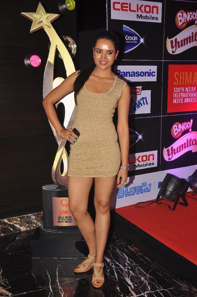 gorgeous blooming Sunitha rana at siima party
