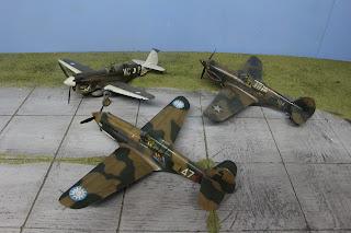 P-40 en famille