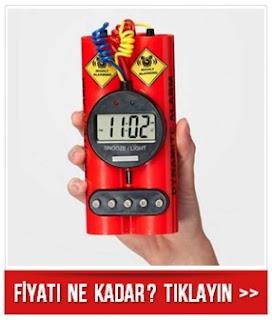 Dynamite Alarm Clock - Dinamit Saat