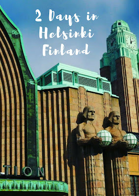 Pinterest Pin: 2 Days in Helsinki Finland