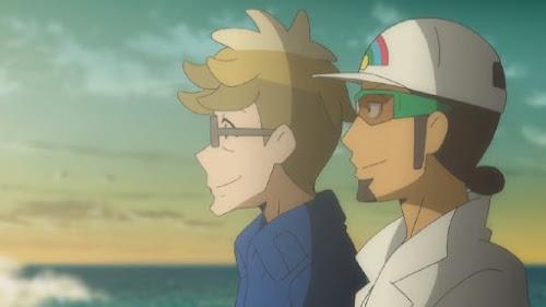Pokémon Sol y Luna Ultra Aventuras Capitulo 36 Temporada 21 Una inolvidable lluvia de meteoros