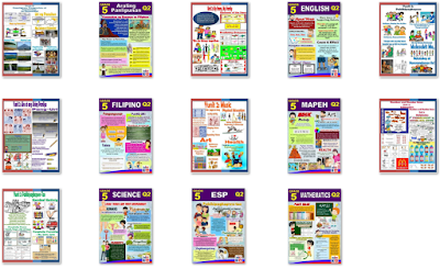 New 2nd Quarter Bulletin Boards for Grades 1-6 All Subjects