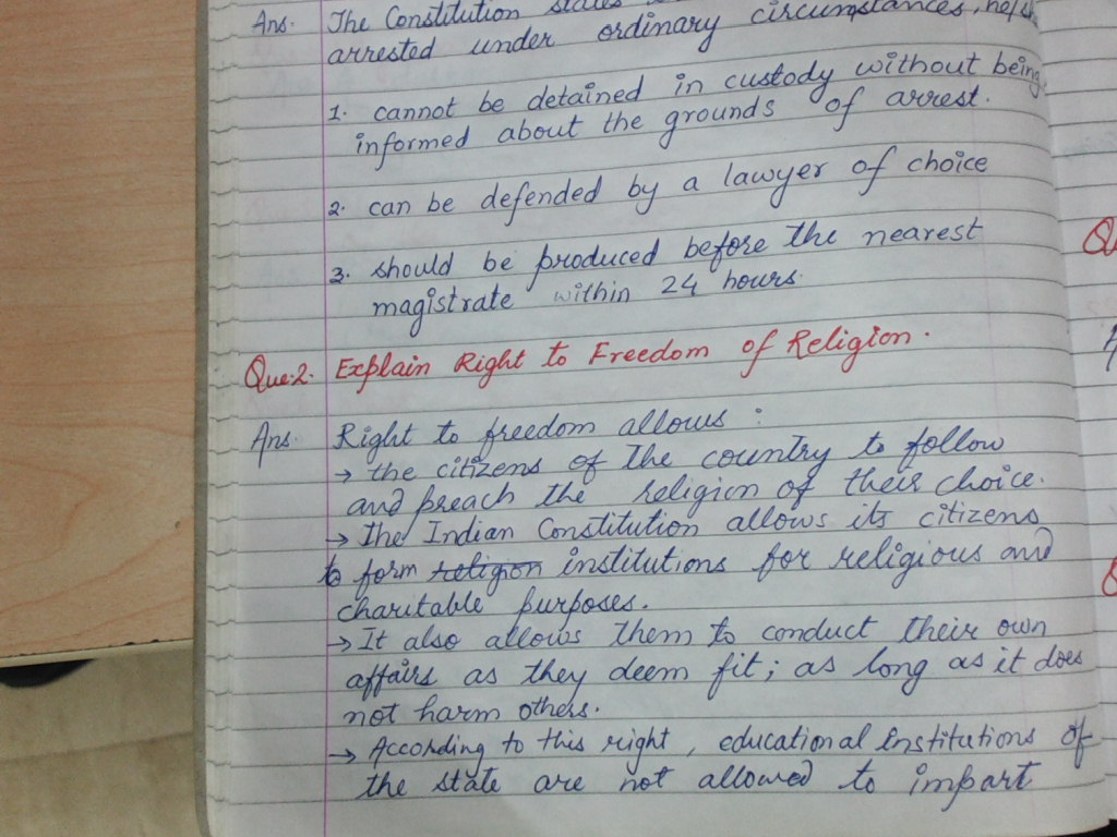 rights and duties of indian constitution
