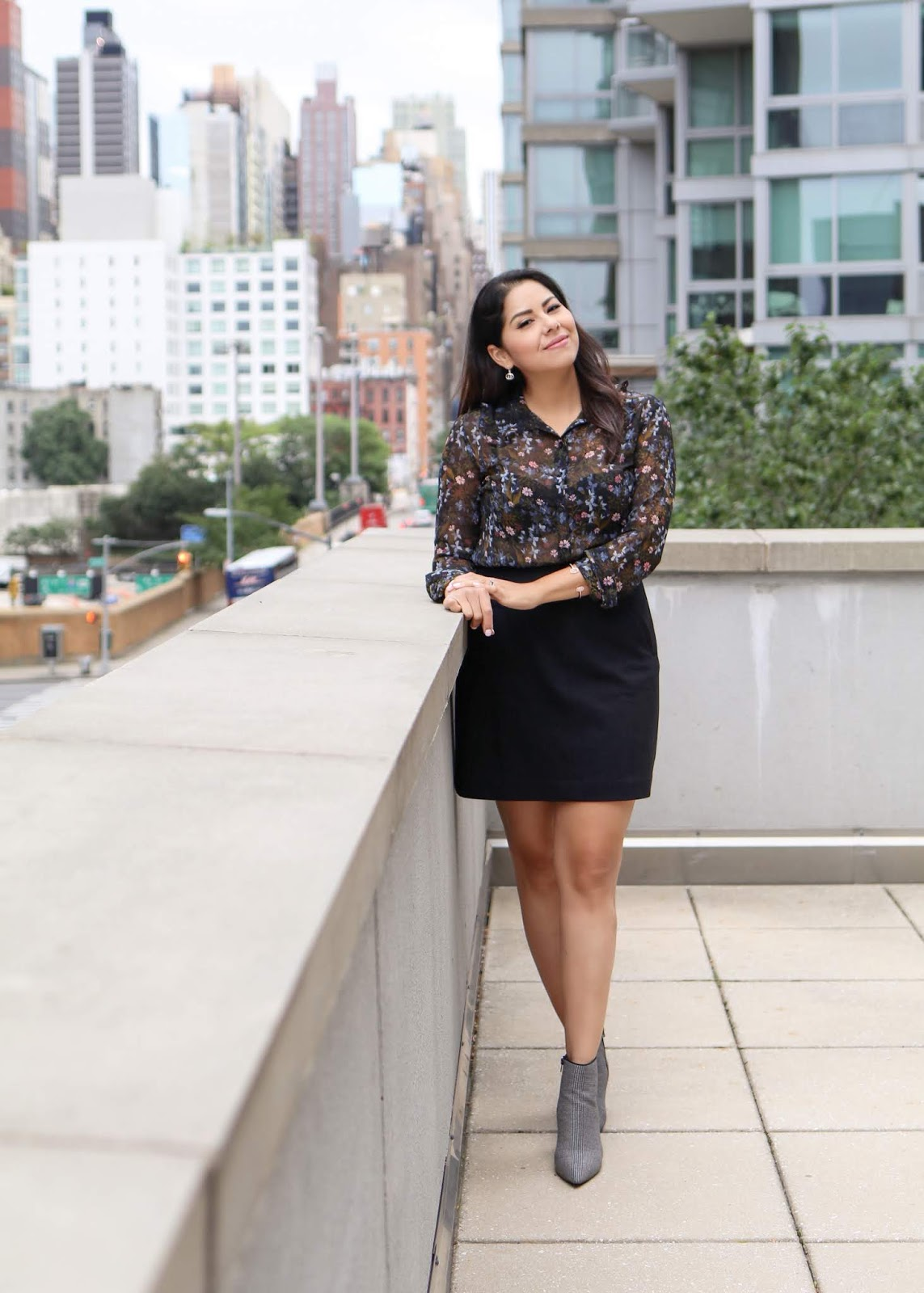 nyfw off duty style, how to wear ankle booties