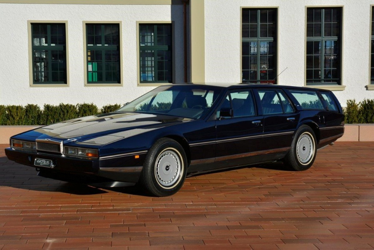 aston martin lagonda shooting brake is one of a kind offering carscoops. Black Bedroom Furniture Sets. Home Design Ideas