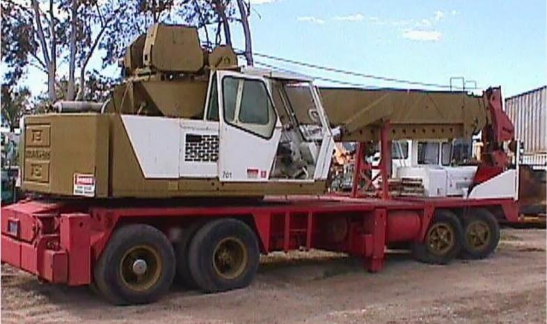 bucyrus erie 45c hydro truck crane
