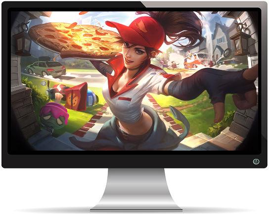 Amumu - League of Legends - Fond d'Écran Full HD 1080p