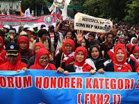 TEGAS ! Honorer K2 Siap Kibarkan Bendera Jihad