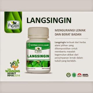 Herbal pelangsing Hpai