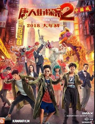Detective Chinatown 2 (2018) HDRip Subtitle Indonesia