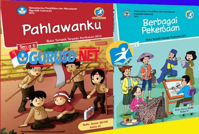 Buku Kurikulum 2013 Kelas 4 SD Semester Dua Revisi Tahun 2016