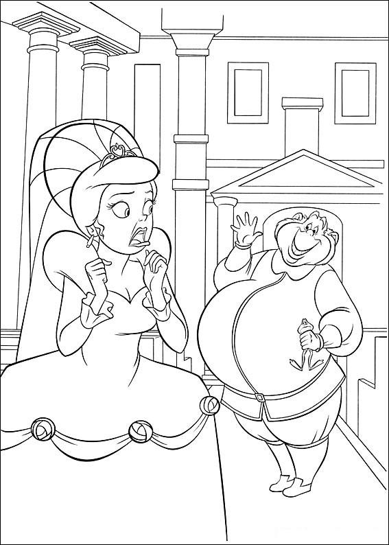 La Princesa Y El Sapo Para Colorear Colorearrr