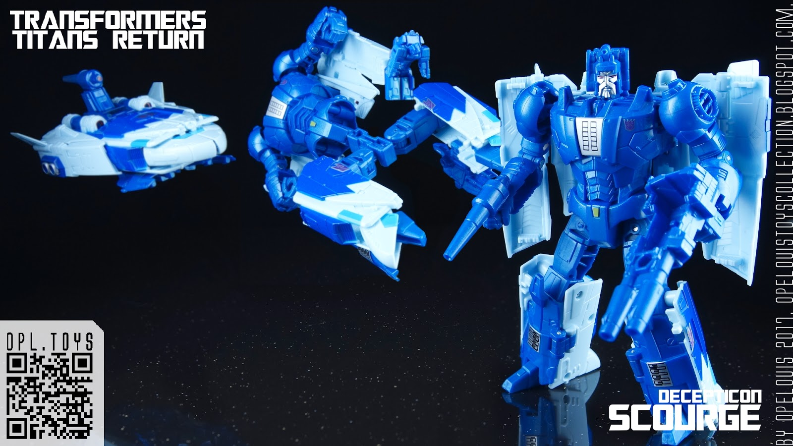 Hasbro Transformers Titans Return Decepticon Scourge