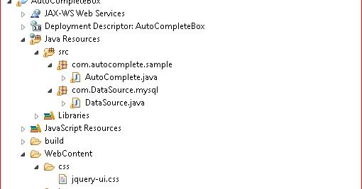 JQuery Autocomplete Box in java Dynamic web application using MySQL