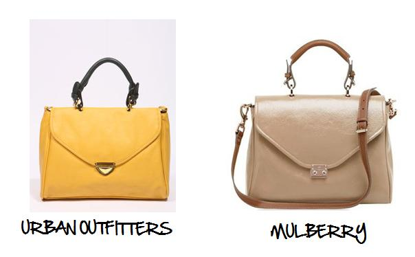 Clones 2011 bolso Mulberry Urban Outfitters