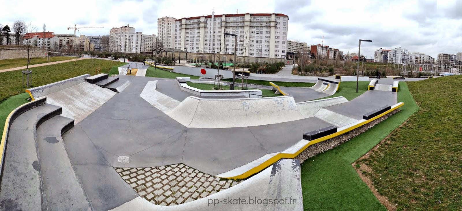 skatepark Lyon Sergent Blandan