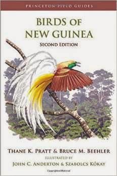 Field guide book Birds of New Guinea by Thane K. Pratt and Bruce Beehler, et al